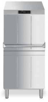 SMEG Haubenspülmaschine HTY620D, doppelwandige Haube, Korb 600X500 oder 500X500 mm