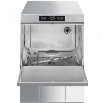 SMEG Geschirrspülmaschine UD505DS ECOLINE, Einwandig, Höhe 820 mm, Korb 500 mm, mit Klarspülpumpe, Wasserenthärter