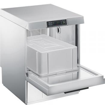 SMEG Geschirrspülmaschine für Euro-Norm Behälter, Körbe und Bleche inkl. Wasserenthärter UD516DS