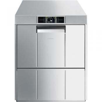 SMEG Gläserspülmaschine UG520DSL TOPLINE, doppelwandiges Gehäuse, inkl. automat. Enthärter, 400V, Korb 500x500 mm